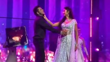 Da-Bangg Tour: Salman Khan -Katrina Kaif Sway Fans With Their Sizzling Performance On Dil Diyan Gallan – VIDEO