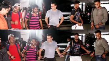 Dabangg 3: Salman Khan AKA Chulbul Pandey Shakes A 'Belt' With The Paparazzi On Munna Badnaam Hua – VIDEO