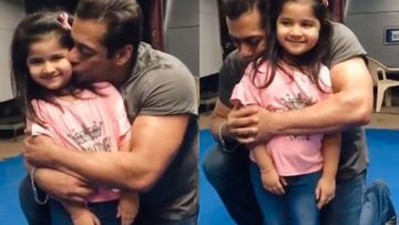 Salman Khan Showers His Little Fan With Endless Kisses And Hugs; Bhai Fans Call It 'Cuteness Overload' – VIDEO