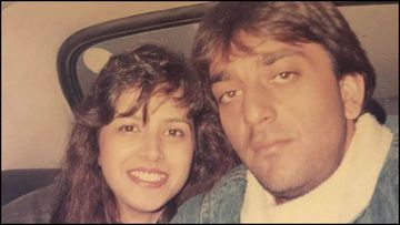 Sanjay Dutt Diagnosed With Lung Cancer; Actor's UNSEEN PIC With His First Wife Richa Sharma Surfaces Online