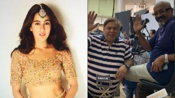 Coolie No 1: Sara Ali Khan Is Having A Gala Time With Director David Dhawan, But Where's Varun?