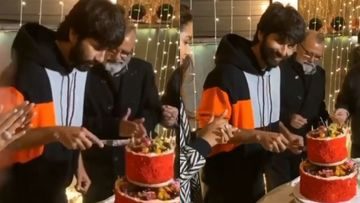 Birthday Boy Shahid Kapoor's Reaction To 'Jersey 400 Crores' Chant While Cutting His Cake Is Priceless – VIDEO