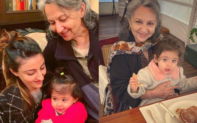 Soha Ali Khan And Her Munchkin Inaaya Kemmu Organise A Virtual Birthday Bash For Sharmila Tagore; This Reunion Is Too Cute To Miss - PIC