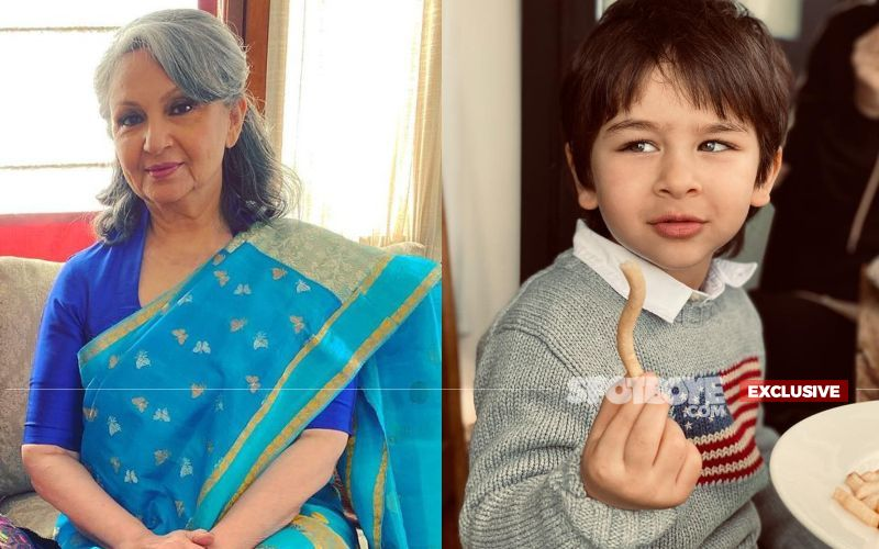 Sharmila Tagore Tells SpotboyE She's WORRIED About Grandson Taimur Ali Khan; Says, 'Request The Media To Be A Bit More Sensitive'
