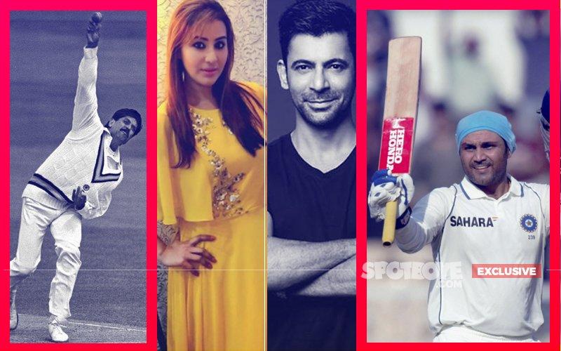 Kapil Dev & Virender Sehwag Join Shilpa Shinde & Sunil Grover