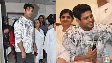 Bigg Boss 13 Winner Sidharth Shukla Arrives In A Black Luxury Sedan To Inaugurate Hospital Ward With Mom, Fans Say 'Love Sidy Boy' – Video
