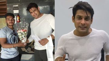 Bigg Boss 13 Winner Sidharth Shukla Cuts Cake With A Fan; Shares A Heartwarming Msg For All His Supporters – VIDEO