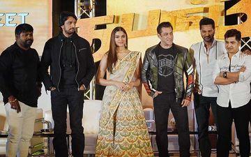 Dabangg 3: Saiee Manjrekar, Salman Khan And Prabhudeva In Chennai For Promotions