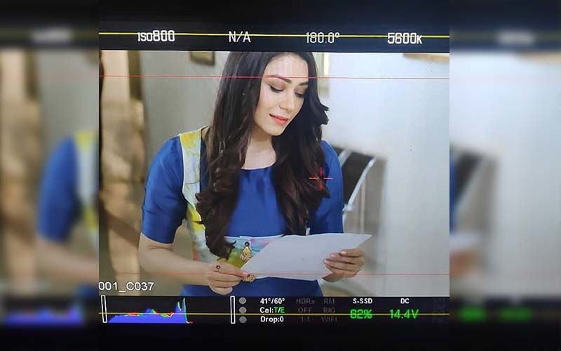 Zakhmi: Actress Anchal Singh Shares BTS Picture From The Film
