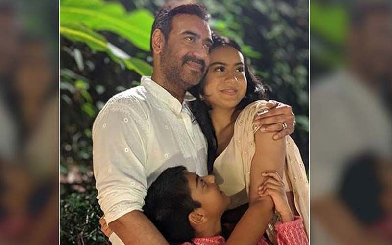 Chhalaang Producer, Nysa And Yug's Daddy Dearest Ajay Devgn Has A Movie Nite Suggestion