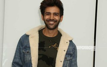 Kartik Aaryan Gets Clicked Outside Filmmaker Sanjay Leela Bhansali's Mumbai Office; Actor Looks Dapper In His Casual Avatar