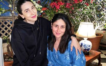 Kareena Kapoor Khan Spotted In Bandra With Sis Karisma Kapoor; Mom-To-Be Heads Out In A Simple Maxi Gown Sans Mask-WATCH Video