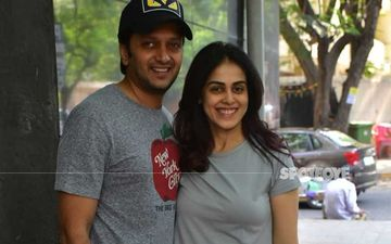 Genelia D'souza And A Shirtless Riteish Deshmukh Goof Around In Bed In This Super Cute Unseen Video