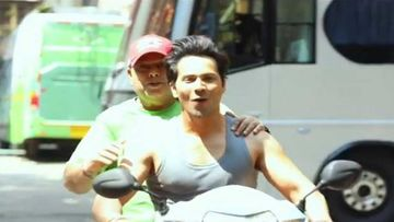 Varun Dhawan Justifies Not Wearing A Helmet While Riding A Scooty; Responds To A Fan Who Questioned Him