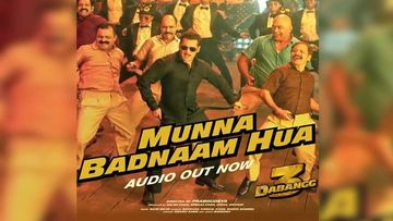 Dabangg 3 Song Munna Badnaam Hua Audio: Salman Khan Reprises Munni Badnaam Song With UP Item Boy Tadka