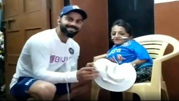 Video Of Virat Kohli Fulfilling His Fan, Pooja Sharma's Wish Of Meeting Him Is Going Viral For The Right Reasons