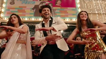 Pati Patni Aur Woh Song Ankhiyon Se Goli Mare Fan Reaction: Kartik-Ananya-Bhumi's Peppy Number Is Winning Hearts