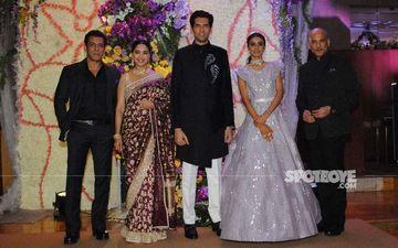 Shahid Kapoor, Salman Khan, Madhuri Dixit, Rekha Attend The Wedding Reception Of Sooraj Barjatya's Son