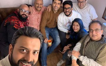 Maaya Kumari: Raj Chakraborty Visits Director Arindam Sil At The Shooting, Shares Picture