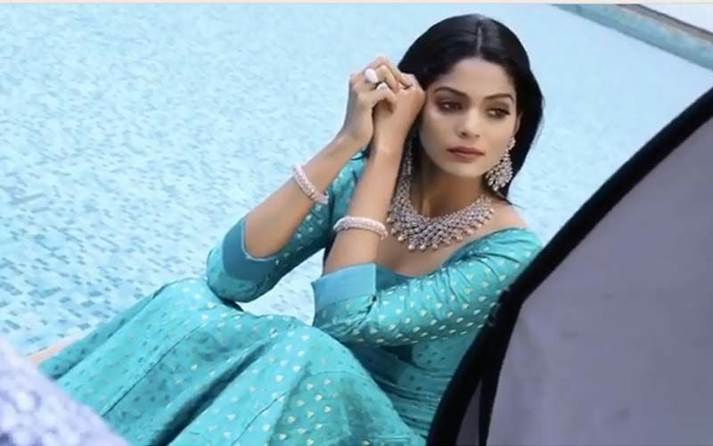 Catch A Glimpse Of Pooja Sawant's Mesmerising Beauty In Her New Bling Photoshoot Post