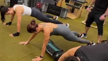 Katrina Kaif Aces Her Push-Ups With A Crossfit Gig In The Gym; The Actress Is High On Motivation- VIDEO