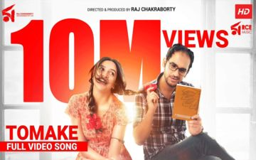 Parineeta's Song Tomake Crosses 10 Million Views On Youtube, Raj Chakraborty Thanks Team