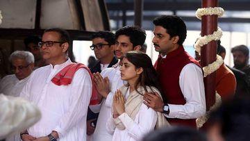Ritu Nanda's Funeral: Navya Naveli Nanda Breaks Down, Abhishek Bachchan Consoles His Niece