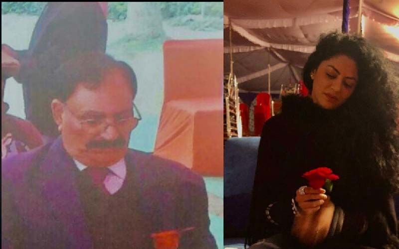 Kavita Kaushik Pens Down Emotional Message For Her Father, Shares Pic On Instagram