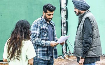 Arjun Kapoor Resumes Work After COVID-19 Recovery; Shares Pics From Set And Says 'I'm Back To My Happy Place'