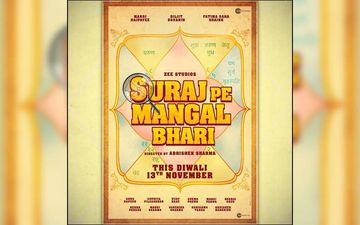 Suraj Pe Mangal Bhari: Diljit Dosanjh Shares Poster Of His Upcoming Bollywood Film