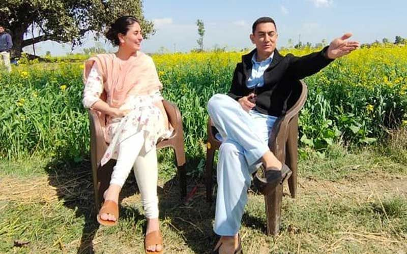 Preggers Kareena Kapoor Khan Wraps Up Shoot For Aamir Khan's Laal Singh Chaddha; Shares A Candid Pic From Sets