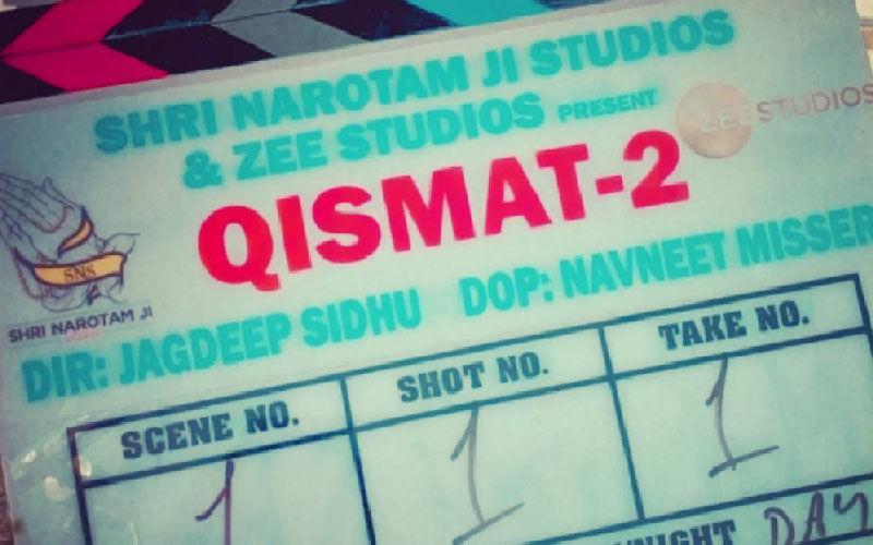 Director Jagdeep Sidhu's 'Qismat 2' Shooting Begins