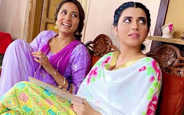 Saunkan Saunkne: Sargun Mehta, Nimrat Khaira Having Fun At Shooting; Shares Video At Instagram