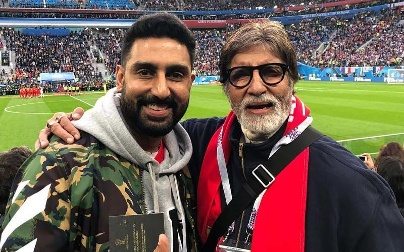 Abhishek Bachchan Refutes News Of Amitabh Bachchan Being Hospitalised; Says, 'That Must Be Paa's Duplicate In Hospital'