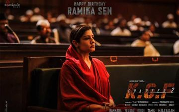 KGF Chapter 2: Makers Release First Look Of Raveena Tandon On Her Birthday; Actress Shines As The Powerhouse Ramika Sen