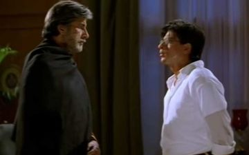 20 Years Of Mohabbatein: Shah Rukh Khan Says 'I Realised How Short And Small I Am' Recalling His First Scene He Performed With Amitabh Bachchan