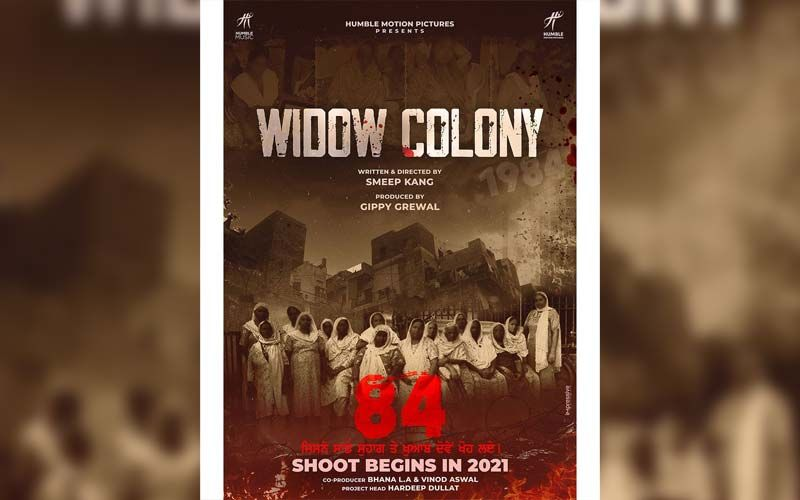 Widow Colony: Gippy Grewal Announces His Next Film; Shares Poster On Instagram