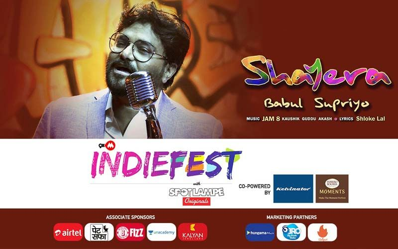 9XM Indiefest With SpotlampE Song Shayera Out Now: Babul Supriyo's Melodious Voice Makes This Romantic Track Soothing To Ears And Soul