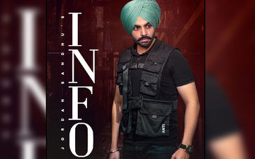 Jordan Sandhu Shares Next Song 'INFO' Poster; Releasing On Nov 2