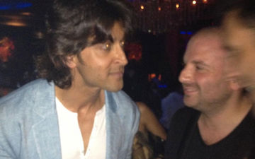 Masterchef Australia's Judge George Calombaris Shares A Throwback Blurry Photo With Hrithik Roshan; Says, 'I Think He Is Struggling On Insta Followers'