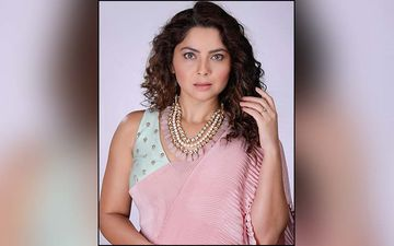 Sonalee Kulkarni Takes A Dive In The Muddy Waters Wearing A Hot Black Bikini