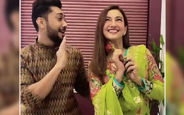 Gauahar Khan And Zaid Darbar Get Papped In The City; BB 14's Toofani Senior Blushes As Pap Says 'Rab Ne Bana Di Jodi'  - Watch