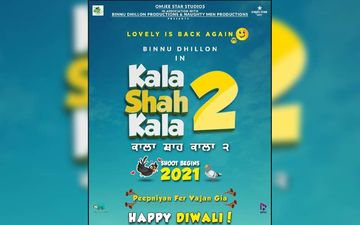 Binnu Dhillon Announces His Next Film Kala Shah Kala 2; Shooting Begins Next Year