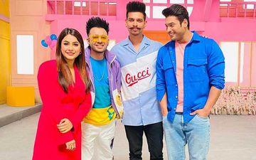 Bigg Boss 13's Sidharth Shukla And Shehnaaz Gill Shoot For Something Interesting With Neha Kakkar's Brother Tony Kakkar; Pose For A Pic