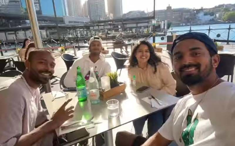 Ahead Of India Vs Australia 1st ODI, KL Rahul, Hardik Pandya Step Out To Enjoy Lunch With Mayank Agarwal And His Wife