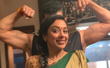 Rupali Ganguli Shares Some Unseen Pictures From The Sets Of Anupama; The Actress Sure Knows How To Have Fun