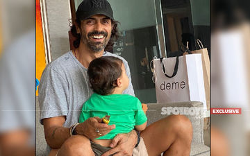 'I've Cleaned My Son Arik's Diapers During The Lockdown,' Says Arjun Rampal - EXCLUSIVE
