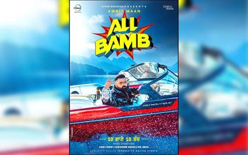 Amrit Maan's First Album 'All Bamb' Poster Is Out
