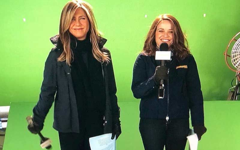 Jennifer Aniston-Reese Witherspoon's The Morning Show Shooting Stalled After Crew Member Tests Positive For COVID-19; A Night Shoot Was Cancelled-REPORT