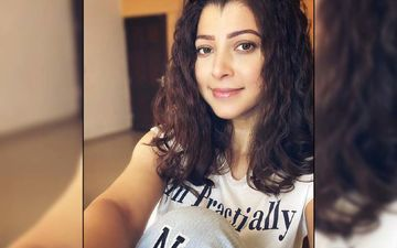 Tejaswini Pandit Looks Alluringly Mysterious In a Monochrome Frame